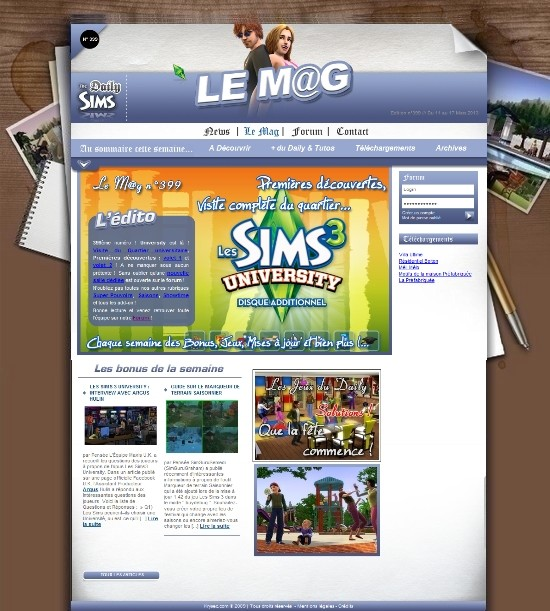 Daily Sims, Sims 2 & 3 - Page 3 Mag39910