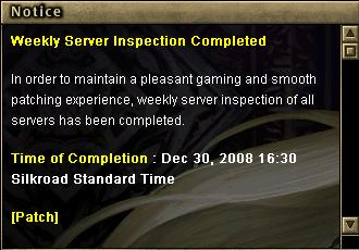 12.30 Weekly Server İnspection! 219
