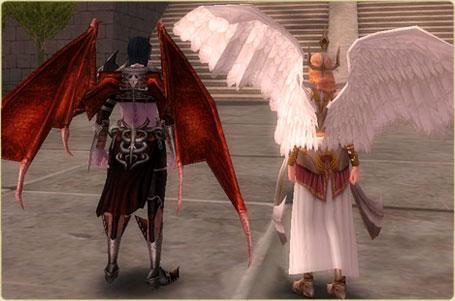 10.24 Melek ve Şeytan Kıyafetleri Tekrar Satışa Sunuluyor Angel210