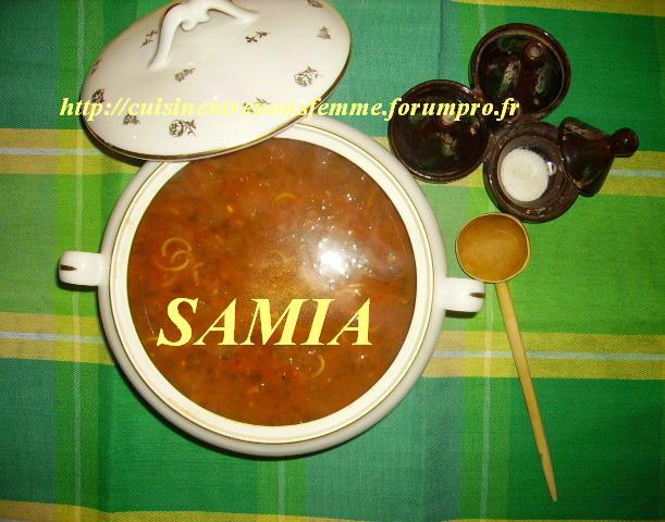 Harira ou H'rira marocaine à base de bouillon de L'ktaf (Epaule d'agneau)- Soupe nationale au Maroc 119
