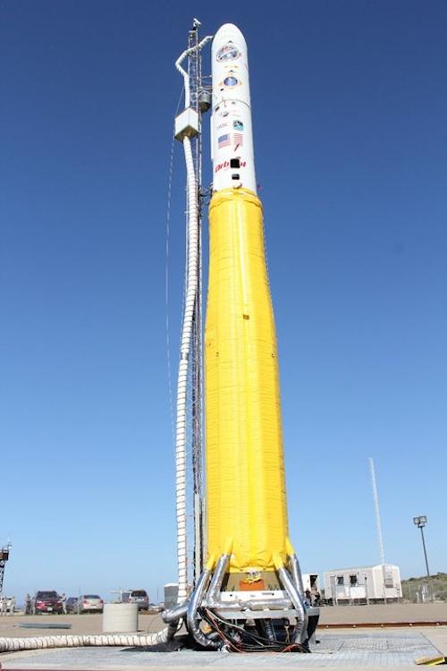 lancement Minotaur 1 NROL-66 le 05 février 2011 0210