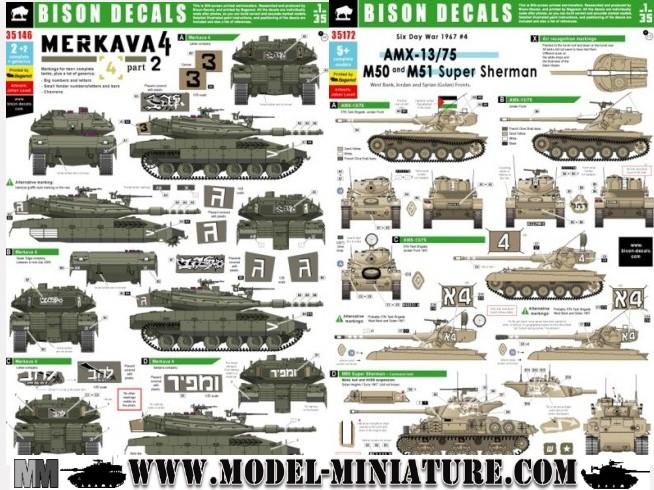 HMMWV Opfor, Puma Batash, Decal.. chez Model Miniature Bison_10