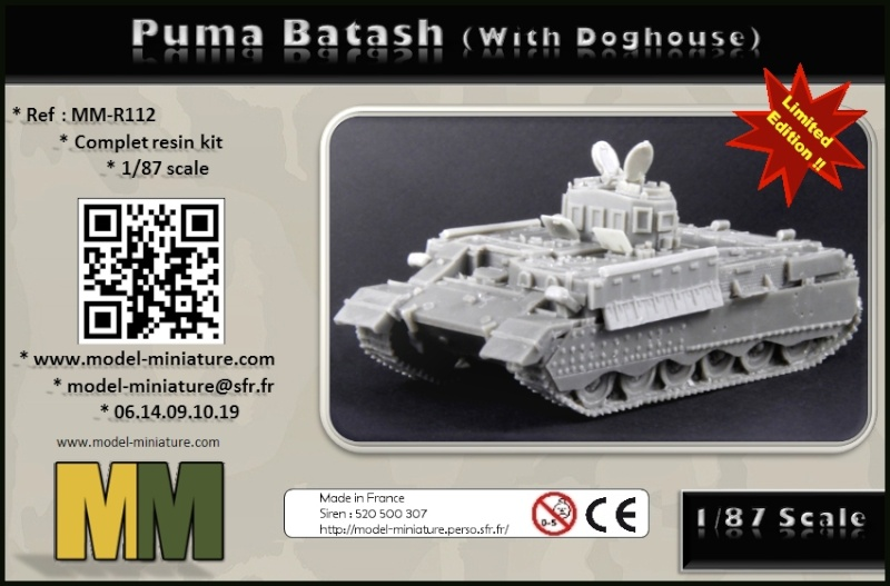 HMMWV Opfor, Puma Batash, Decal.. chez Model Miniature Box_pu10