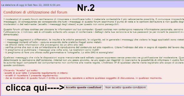 Modalita' di Registrazione Res_211