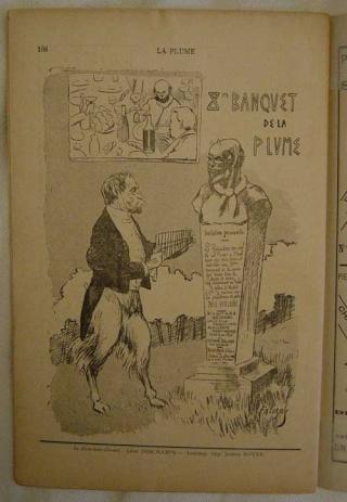 La Plume - 1889 - 1905 - Léon Deschamps Banque10