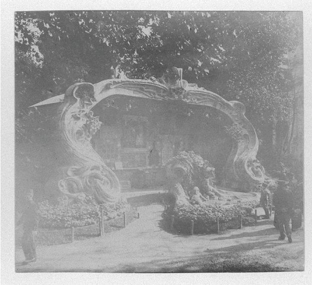 Georges de Feure Le Pavillion de l'Art Nouveau Bing - Exposition Universelle Paris 1900 Naamlo12
