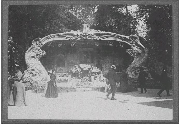 Georges de Feure Le Pavillion de l'Art Nouveau Bing - Exposition Universelle Paris 1900 Naamlo13