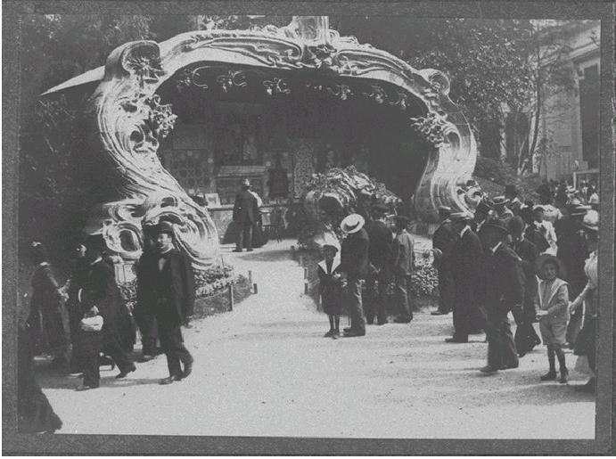 Georges de Feure Le Pavillion de l'Art Nouveau Bing - Exposition Universelle Paris 1900 Naamlo14