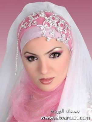 مجموعه  من لفات طرح العروس Aaa110