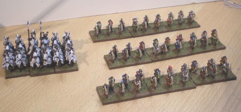 [Argrom]Mes Anglais Guerre de 100 ans ou mon armée bretonnie Archer10