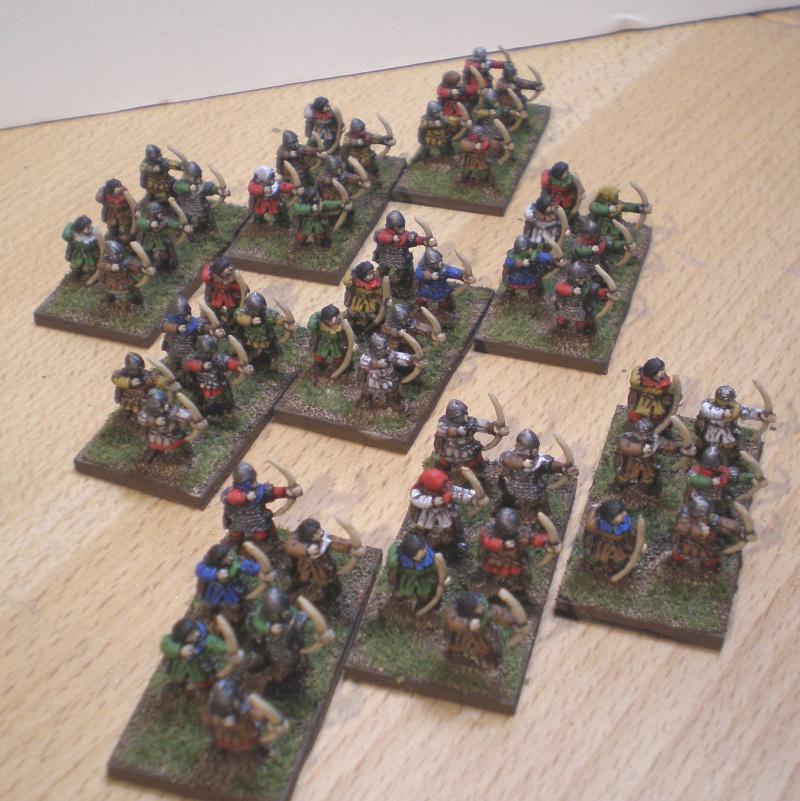 [Argrom]Mes Anglais Guerre de 100 ans ou mon armée bretonnie Archer11