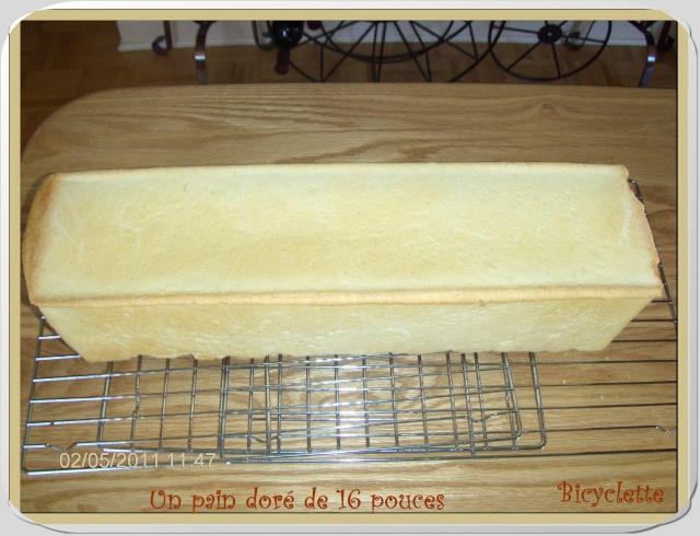 Démo d'un pain sandwich dans le moule Pullman _271210