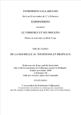 expo sur les moulin à Gallargues du 6 au 11 nov de17 à 20 hr Expo_s10