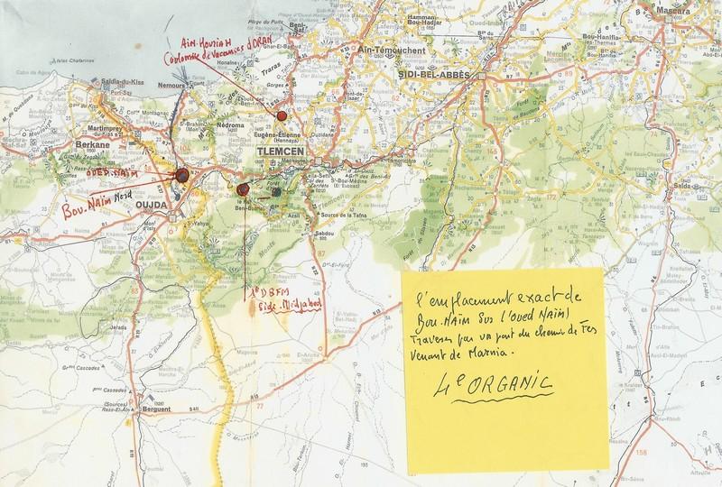 carte de la région Numari39