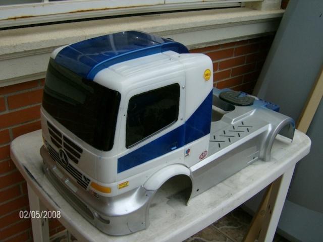 Camión RC 49cc Camian10