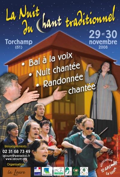 Nuit du chant traditionnel normand Affich11