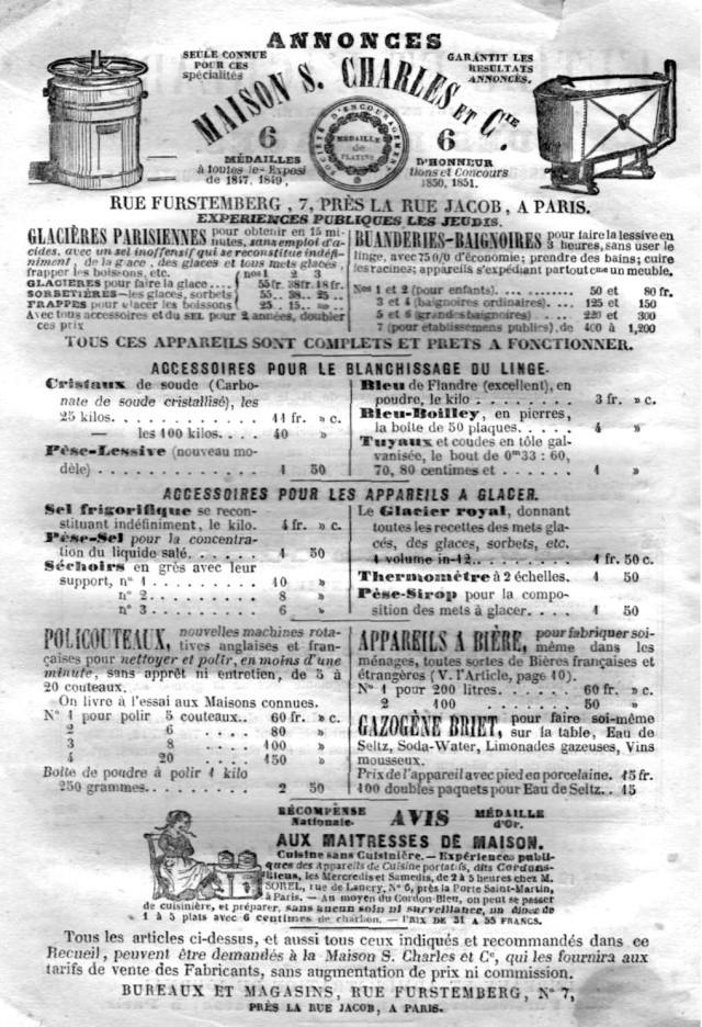 L'Utile et l' Agréable - 1854 Utile124