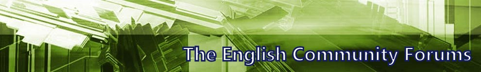 .:THE ENGLISH COMMUNITY: The Community that Rocks!.
