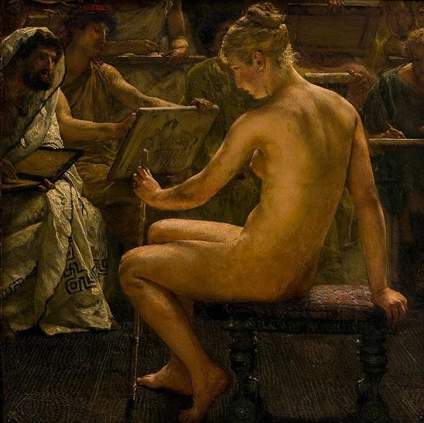 Un Estudio Romano-Lawrence Alma Tadema 10ebae10