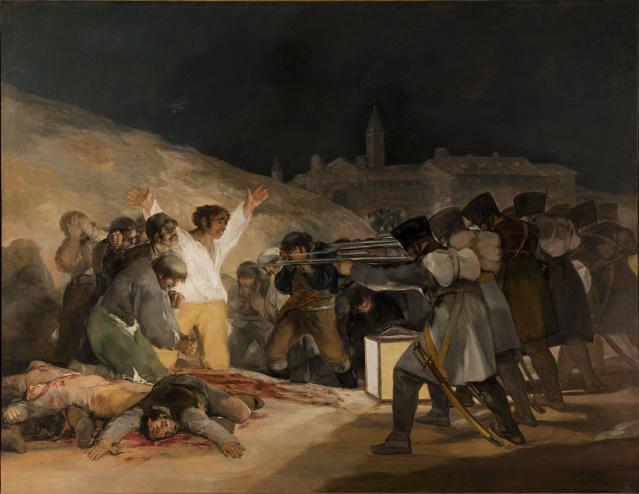 El Tres de mayo de 1808 en Madrid-Goya 1200px10