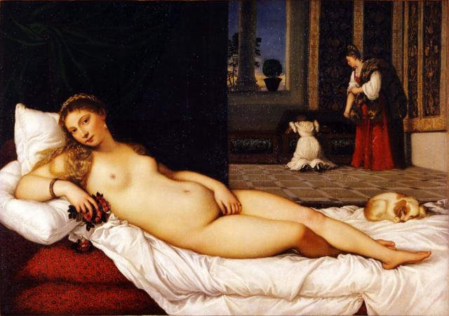 Venus de Urbino--Tiziano  1280px11
