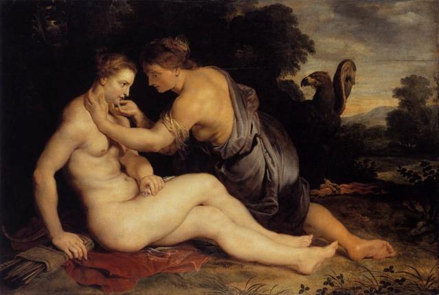 Júpiter y Calisto-- Rubens 13myth10