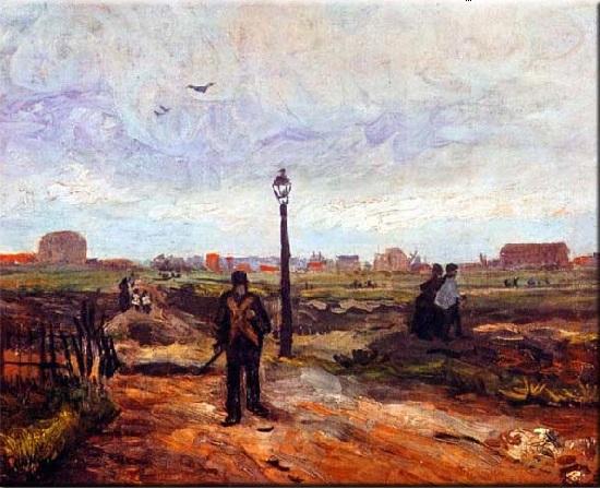 A las afueras de París. Vincent Van Gogh 43-van10