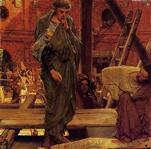 Arquitectura en la Antigua Roma. Sir Lawrence Alma-Tadema 517xax10