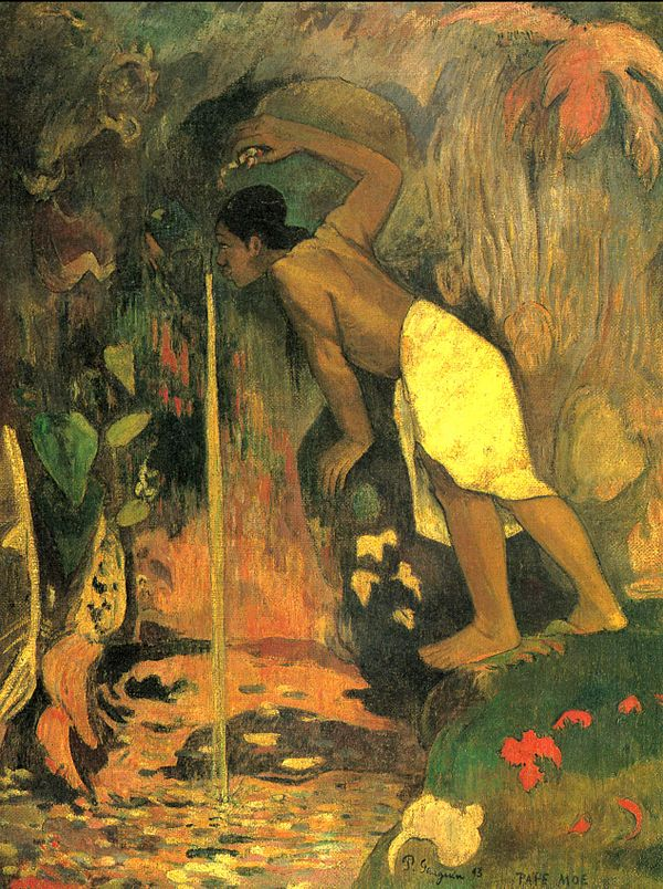 Agua Misteriosa-Paul Gauguin 600px-10