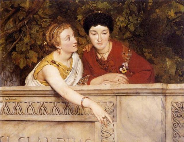 Gallo Romano Mujeres- Sir Lawrence Alma-Tadema 71dmux10
