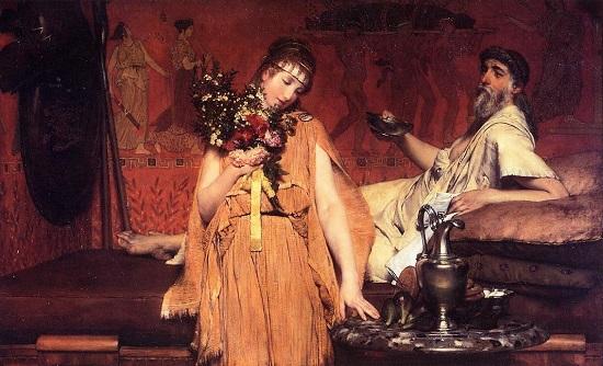 Entre la esperanza y el miedo- Alma-Tadema 71yf-110