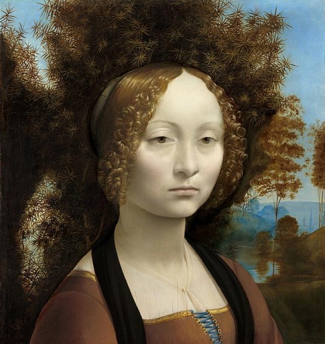 Ginevra de Benci de Leonardo da Vinci 800px-10