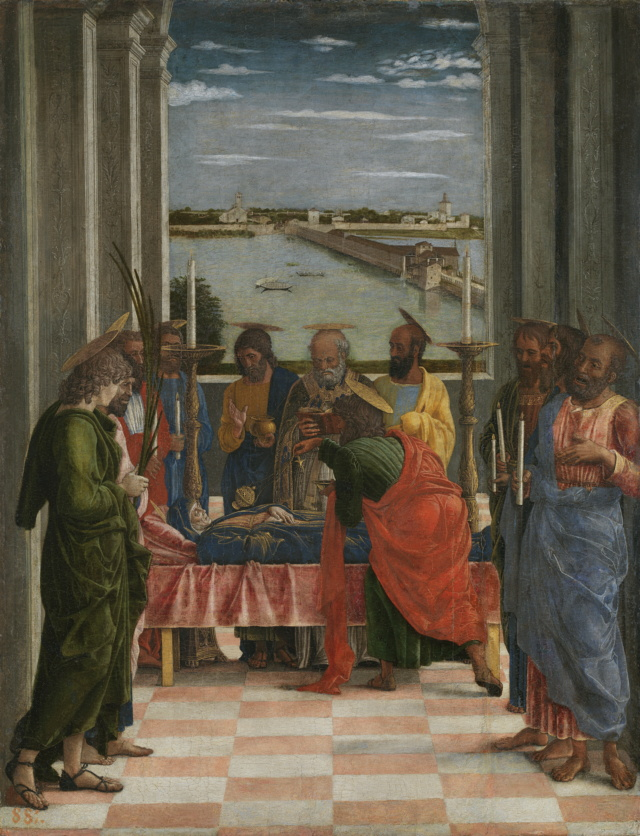 El Tránsito de la Virgen-Andrea Mantegna Andrea10