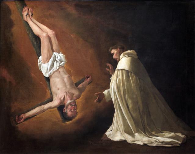 Aparición del apóstol San Pedro- Zurbarán Aparic10