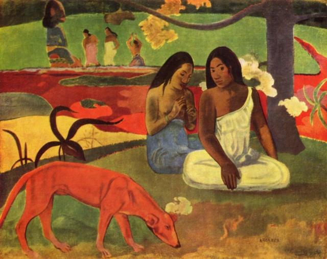 Arearea-- Gauguin Areare10