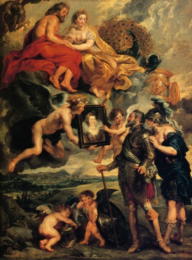 Enrique IV recibiendo el retrato-Ruben Bb4c1610
