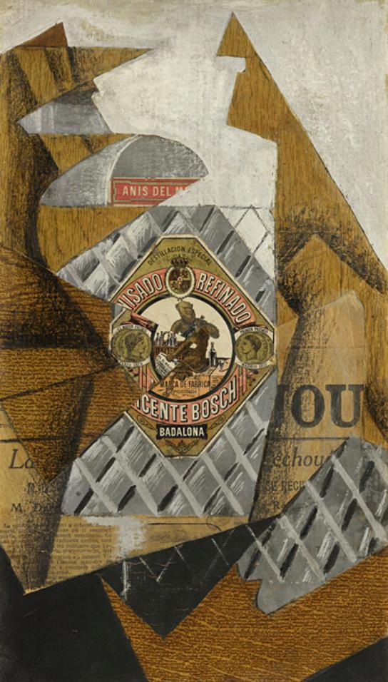 La botella de anís--Juan Gris Captur10