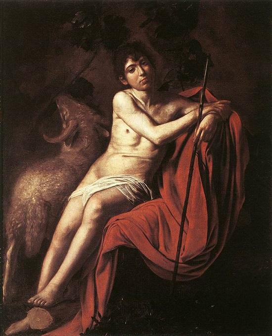 Juan Bautista (Borghese) de Caravaggio Carava11