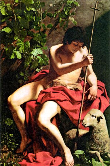 Juan Bautista- Caravaggio Carava12