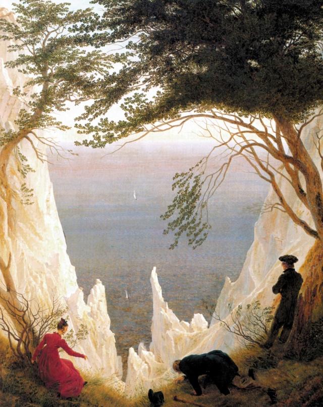 Acantilados Blancos en Rügen- David Friedrich Caspar10