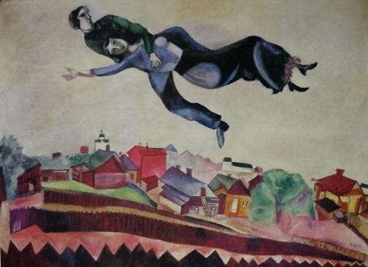 Sobre la Ciudad. Marc Chagall Chagal11