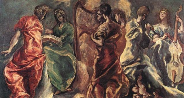 Concierto de ángeles-El Greco Concie10