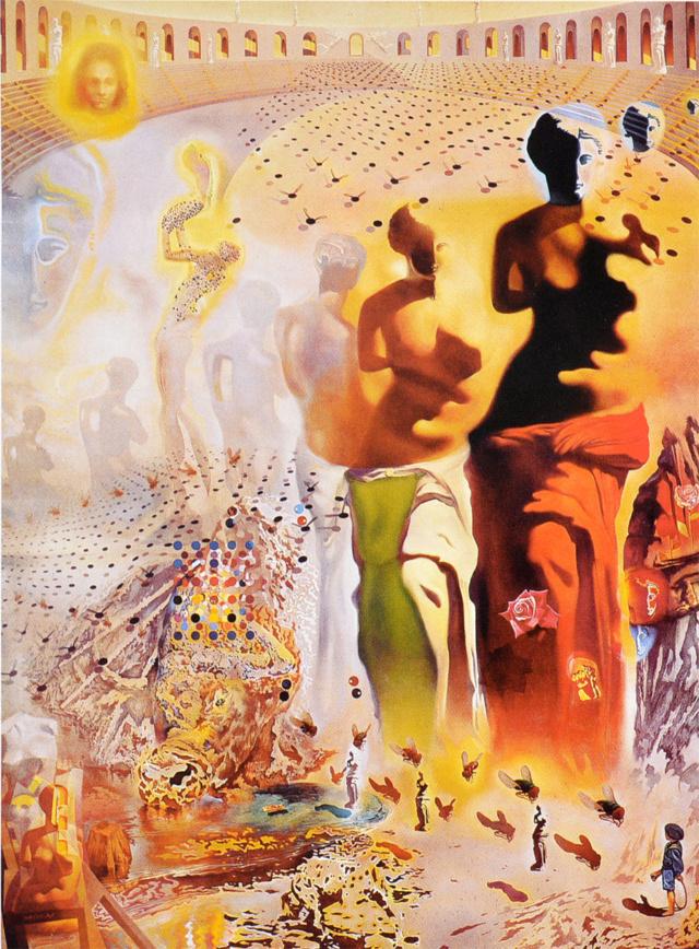EL TORERO ALUCINÓGENO. Salvador Dalí Dali-310