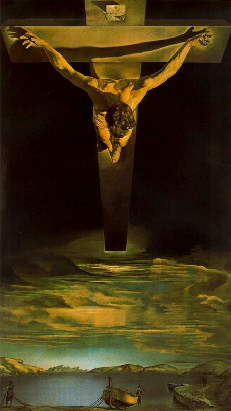 Cristo de San Juan de la Cruz-Dali Dali-c10