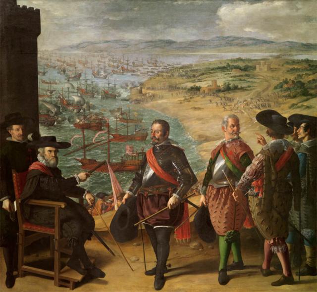 Defensa de Cádiz contra los ingleses- Zurbarán Defens10
