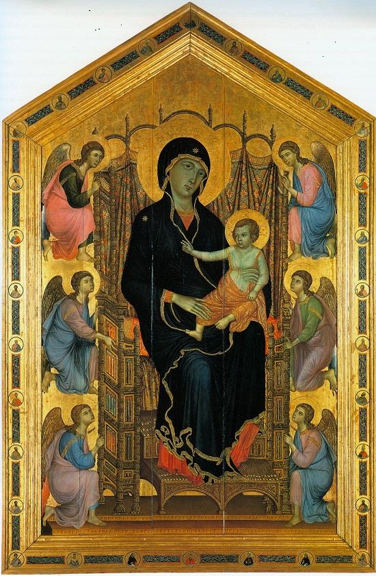 Maestá de Duccio -Cimabue-Giotto  Duccio10