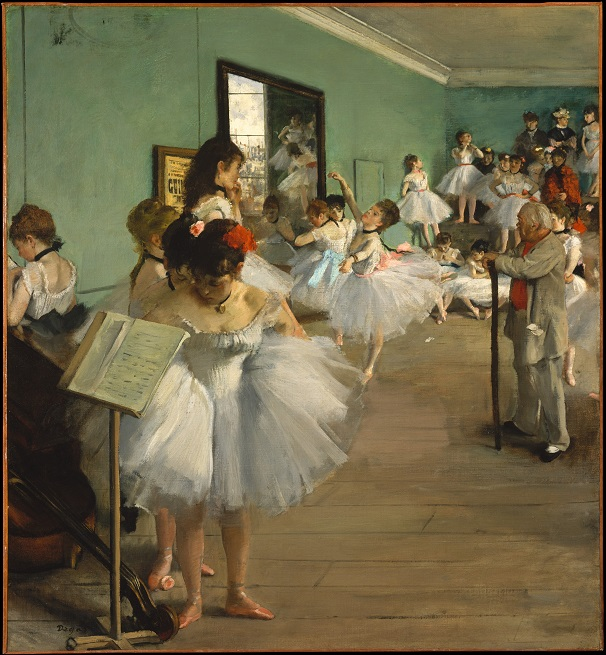 La Clase de Danzas-Degas Edgar_10