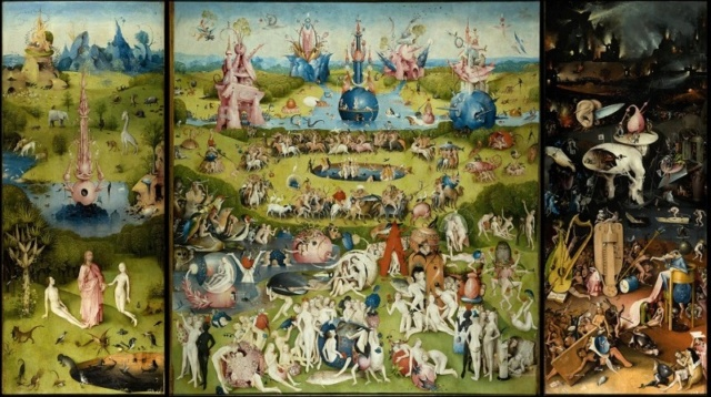 El jardín de las delicias-Hieronymus Bosch El-jar11