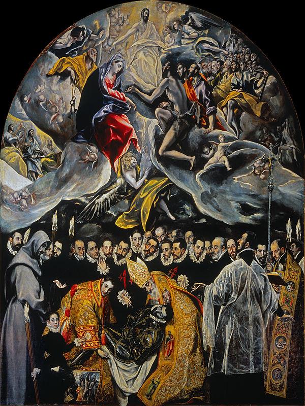 El Entierro del Señor de Orgaz-El Greco El_ent10