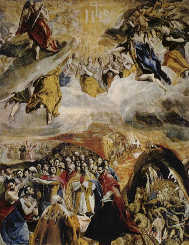 Adoración del nombre de Jesús-El Greco El_gre10